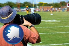 alaska a sporting event photographer