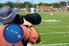 hawaii a sporting event photographer