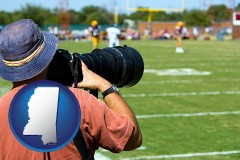 mississippi a sporting event photographer
