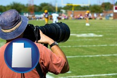 ut a sporting event photographer